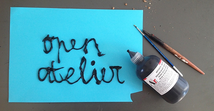 Open Atelier gesloten tot medio september